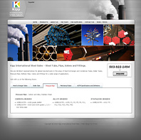 Kipp International Steel Sales